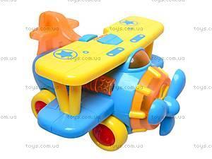Музыкальная игрушка «Самолетик», 9102, купить