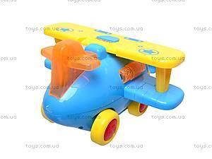 Музыкальная игрушка «Самолетик», 9102, фото