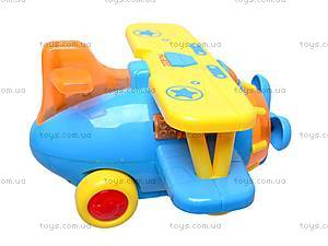 Музыкальная игрушка «Самолетик», 9102, отзывы