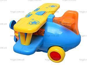 Музыкальная игрушка «Самолетик», 9102, игрушки