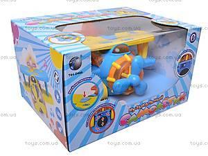 Музыкальная игрушка «Самолетик», 9102, детские игрушки