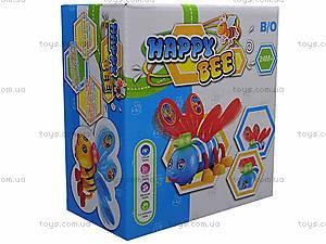Музыкальная игрушка «Счастливая пчелка», JS3288-1, фото