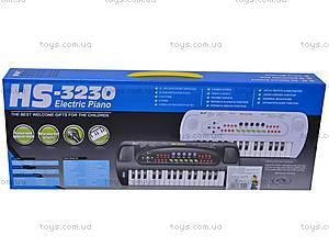 Музыкальная игрушка «Синтезатор», с микрофоном, HS3230C, купить