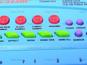 Музыкальная игрушка «Синтезатор», с микрофоном, HS3230C, фото