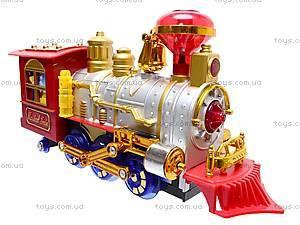 Музыкальная игрушка «Сказочный поезд», 0626, детские игрушки