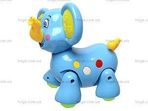 Музыкальная игрушка «Слоник», 383, игрушки