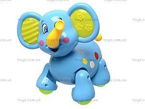 Музыкальная игрушка «Слоник», 383, магазин игрушек