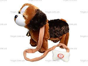 Музыкальная игрушка «Собачка на поводке», H898-8, купить
