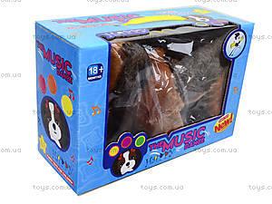Музыкальная игрушка «Собачка на поводке», H898-8, детские игрушки