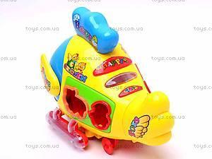 Музыкальная игрушка-сортер «Цыпленок», 3191, фото