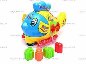 Музыкальная игрушка-сортер «Цыпленок», 3191
