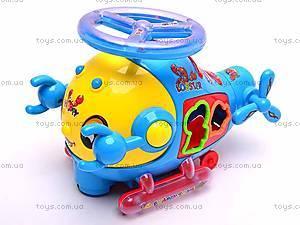 Музыкальная игрушка-сортер «Краб», 3192, игрушки
