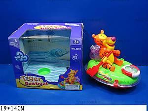 Музыкальная игрушка «Тигренок в лодке», 3091