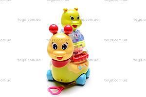 Музыкальная игрушка «Улитка», 9162, купить