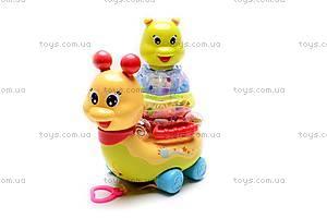 Музыкальная игрушка «Улитка», 9162