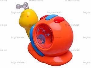 Музыкальная игрушка «Улитка» для детей, 0605, купить