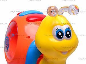 Музыкальная игрушка «Улитка» для детей, 0605, фото