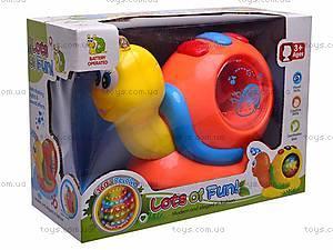 Музыкальная игрушка «Улитка» для детей, 0605, отзывы