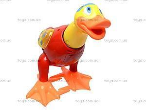 Музыкальная игрушка «Уточка» для детей, 2071, детские игрушки