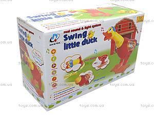 Музыкальная игрушка «Уточка» для детей, 2071