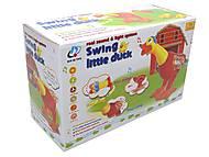 Музыкальная игрушка «Уточка» для детей, 2071, фото