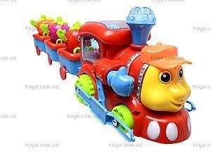 Музыкальная игрушка «Веселый паровозик», 0645-2, отзывы
