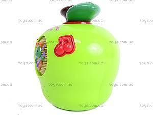 Музыкальная игрушка «Яблоко», 585A (765894), отзывы