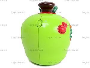 Музыкальная игрушка «Яблоко», 585A (765894), цена