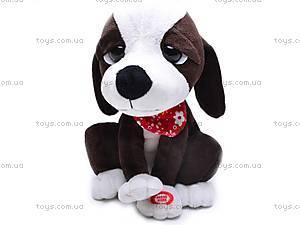Музыкальная интерактивная собачка, CL1118-1, игрушки
