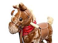 Музыкальная качалка «Лошадь», BT001B, фото