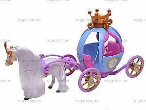 Музыкальная карета, с лошадью, 205B