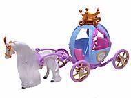 Музыкальная карета, с лошадью, 205B, фото