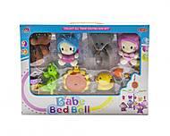 """Музыкальная карусель """"Babe Bed Bell: котики и мишки"""", 3004/6/7"""