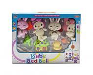 """Музыкальная карусель """"Babe Bed Bell: кролики"""", 3004/6/7, тойс ком юа"""