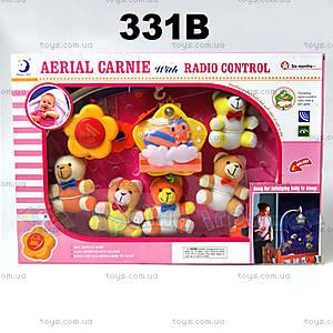 Музыкальная карусель «Мишки», 331B