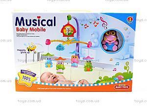 Музыкальная карусель на кроватку, 6519ABCD