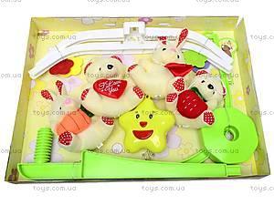Карусель-погремушка на кроватку для детей, D070, купить