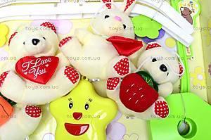 Карусель-погремушка на кроватку для детей, D070, цена