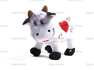 Музыкальная коровка, с сердечком, 2149