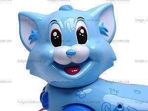 Игрушечная кошка на поводке, 2013-2, фото