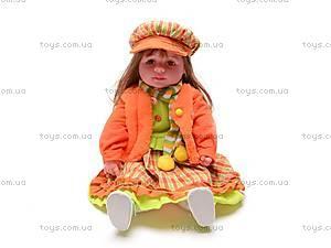 Музыкальная кукла «Аленка», в зимнем наряде, 2010-24B