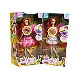 Музыкальная кукла фея с подсветкой (в розово-белом), ZQ50514-011