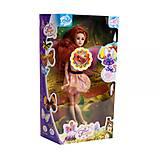 Музыкальная кукла фея с подсветкой (в розово-жёлтом), ZQ50514-017, фото