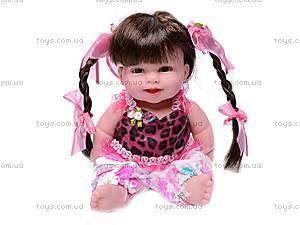 Музыкальная кукла «Ляля», в платье, 2010-10F