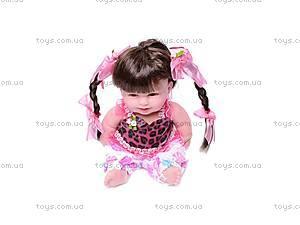Музыкальная кукла «Ляля», в платье, 2010-10F, доставка