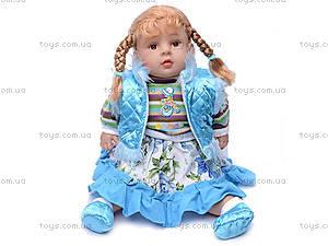 Музыкальная кукла «Маринка», в зимнем наряде, 2011-26C