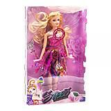 Музыкальная кукла с крыльями «Фея» в розовом платье, 632A, доставка