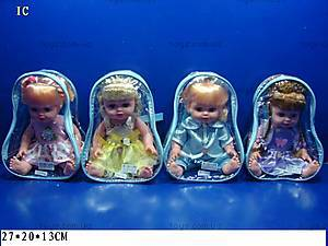 Музыкальная кукла, в рюкзачке, 0213 В25/26