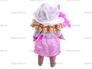 Музыкальная кукла в шляпке, 1306A-1488, цена