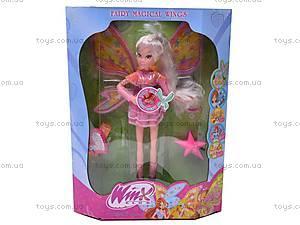 Музыкальная кукла Winx с браслетом, 822, фото